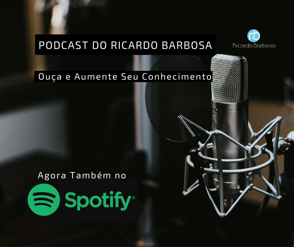 Acompanhe os Podcast também no Spotify